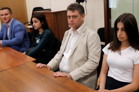 адвокат Паршин и Ангелина Хачатурян